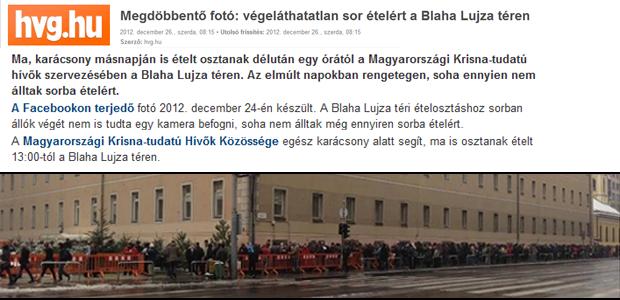 Megdöbbentő fotó: végeláthatatlan sor ételért a Blaha Lujza téren