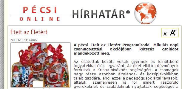 www.pecsi-hirhatar.hu